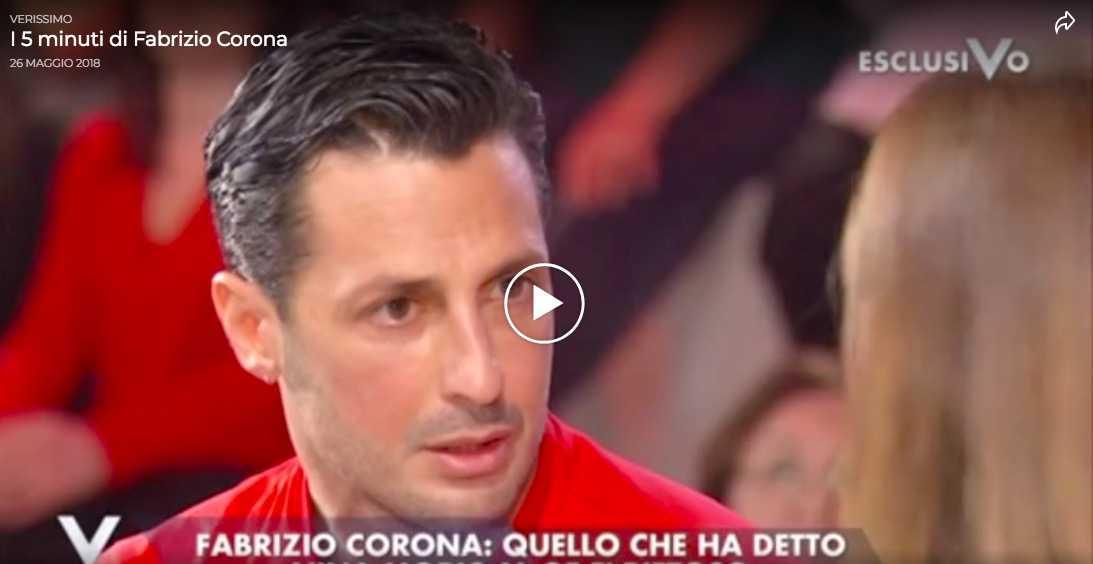 fabrizio corona barbara durso - Fabrizio Corona: Attacca Barbara D'urso in diretta e la Toffanin la difende a spada tratta (VIDEO)