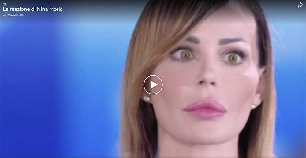 """nina moric bella - Luigi Favoloso: quando lui e la Moric fecero arrabbiare Francesco Monte """"Ti rompo la faccia tu e quella…"""" (VIDEO)"""