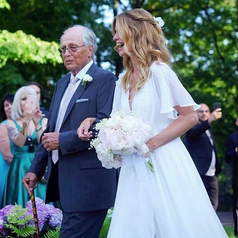 Matrimonio Bossari Lagerback : Matrimonio daniele bossari e filippa lagerback dettagli
