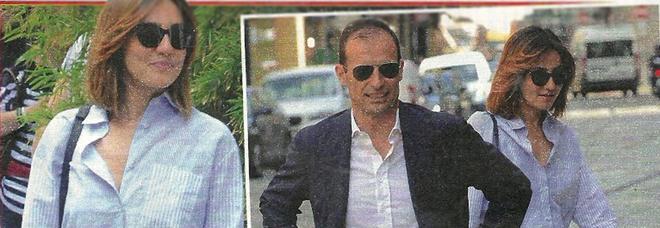 Ambra Angiolini ritrova il sorriso: passeggiata mano nella mano con Massimiliano Allegri