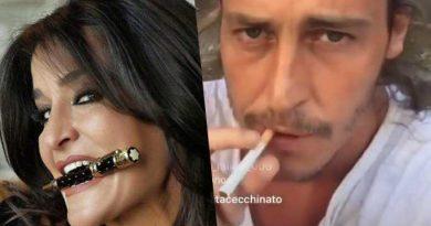 aida nizar alberto mezzetti 4 390x205 - Alberto Mezzetti dice carinerie su Aida Nizar, lei sbrocca gli dà dello schifoso e delira sulla droga (FOTO e VIDEO)