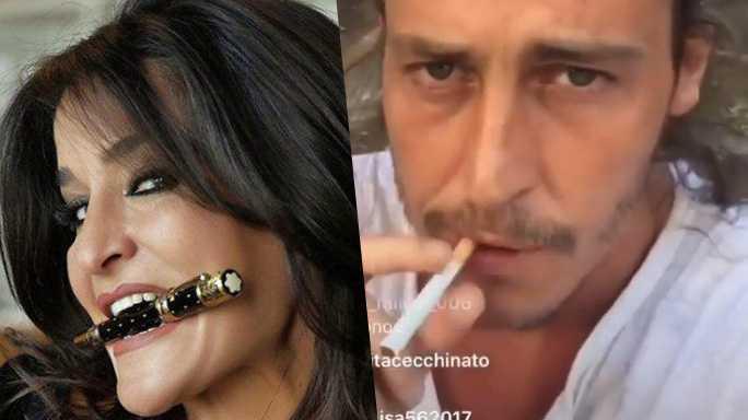 aida nizar alberto mezzetti 4 - Alberto Mezzetti dice carinerie su Aida Nizar, lei sbrocca gli dà dello schifoso e delira sulla droga (FOTO e VIDEO)