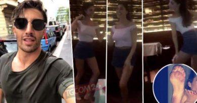 belen iannone 390x205 - Belen Rodriguez balla da sola, con Andrea Iannone è crisi... (FOTO)