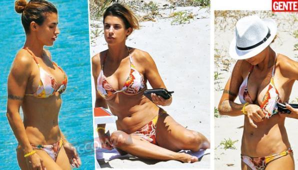 elisabetta canalis 1 - Elisabetta Canalis, seno nuovo per la showgirl? (FOTO)