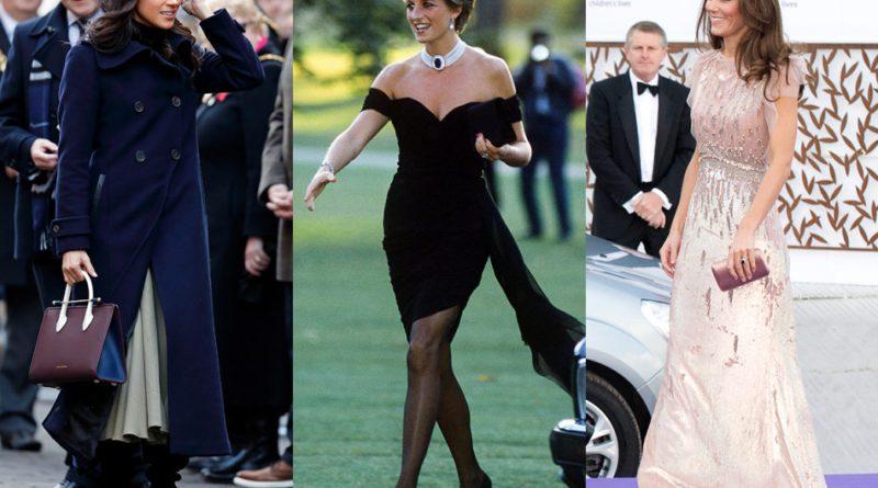 lady d kate meghan 1 800x445 - Royal Fashion: i marchi di moda preferiti dalla famiglia reale, dalle grandi griffe ai brand low cost (FOTO)
