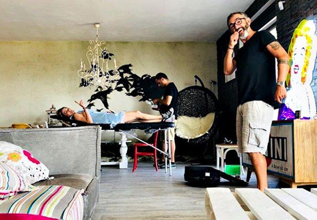 1530870523 chiatti 1 5 640x445 - Laura Chiatti, per l'anniversario con Marco Bocci si regala un tattoo: si fa incidere sulla pelle il nome dell'attore (FOTO)