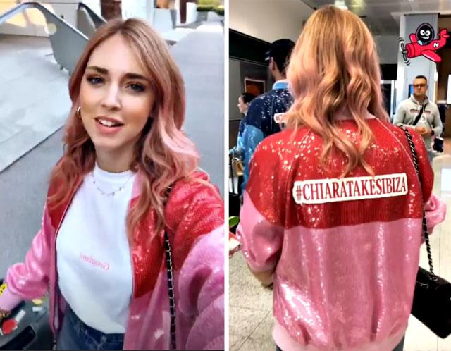 1531471893 ferragni addio al nubilato 4 - Chiara Ferragni cambia look per l'addio al nubilato a Ibiza. La fashion blogger ha tinto i capelli di rosa (FOTO)