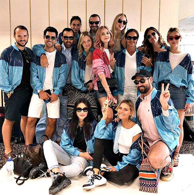1531472080 ferragni addio al nubilato 3 - Chiara Ferragni cambia look per l'addio al nubilato a Ibiza. La fashion blogger ha tinto i capelli di rosa (FOTO)