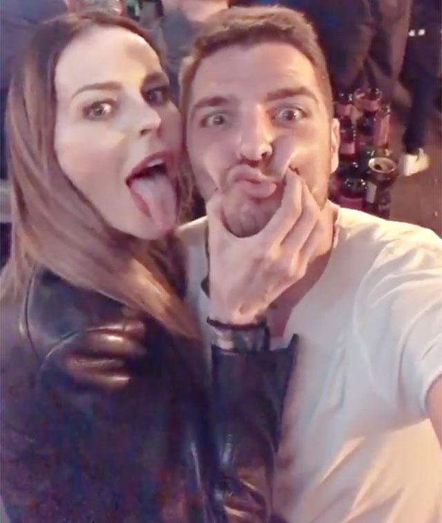 1531475606 moric favoloso 3 - Nina Moric e Luigi Mario Favoloso insieme a Zagabria. La modella croata e l'ex gieffino di nuovo insieme? (FOTO)