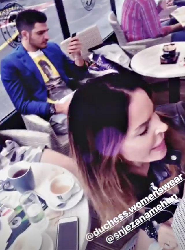 1531475670 moric favoloso 4 - Nina Moric e Luigi Mario Favoloso insieme a Zagabria. La modella croata e l'ex gieffino di nuovo insieme? (FOTO)
