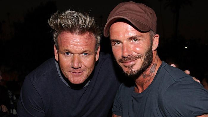 David Beckham, una nuova carriera tra pentole e fornelli: sa
