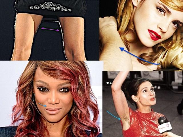 gambe-braccia-pelose-star-celebrity-peli-belen