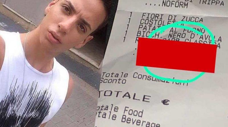"""omofobia roma scontrini 800x500 2 800x445 - Roma, scontrino omofobo in un ristorante del centro: """"Carbonara fr**io"""" (FOTO)"""