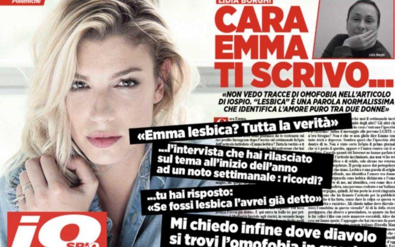 Emma-marrone-lesbica-polemica-amici