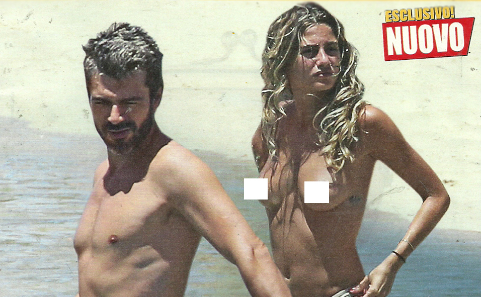 Luca-Argentero-Cristina-Marino-topless-Mykonos