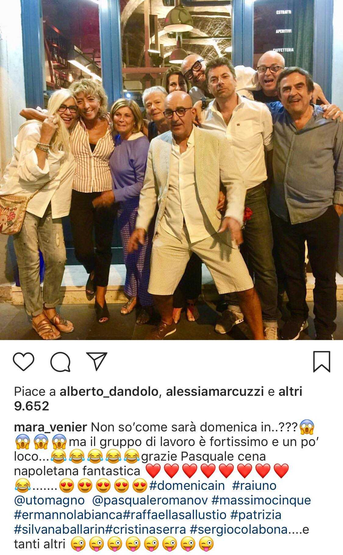 mara venier instagram insulto follower