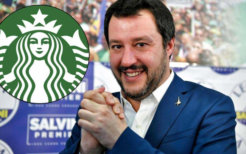 matteo-salvini-starbucks-milano-caffè