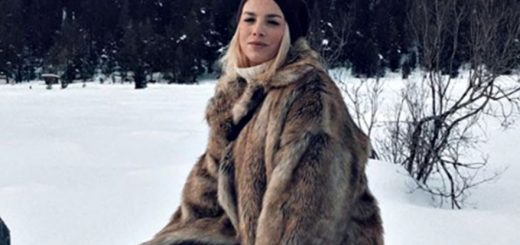 emma-marrone-real-brown-pelliccia-montagna